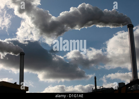 Scrap recycling plant, Ivry-sur-Seine, Ile-de-France, France, Europe - Stock Photo