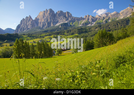 Passo Tre Croci, Belluno Province, Veneto, Italian Dolomites, Italy, Europe - Stock Photo