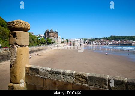 South Sands, Scarborough, North Yorkshire, Yorkshire, England, United Kingdom, Europe - Stock Photo