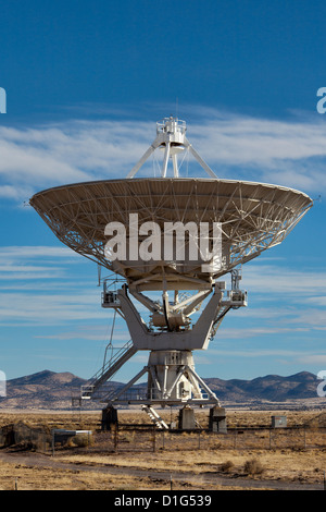 Very Large Array astronomical radio observatory, New Mexico - Stock Photo