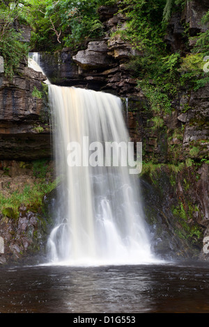 Thornton Force near Ingleton, Yorkshire Dales, North Yorkshire, Yorkshire, England, United Kingdom, Europe - Stock Photo