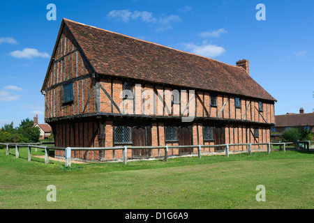 The 15th century Moot Hall, Elstow, Bedfordshire, England, United Kingdom, Europe - Stock Photo