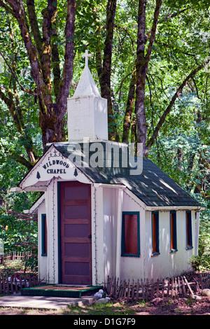 Wayside Chapel Church In Sultan Washington Stock Photo