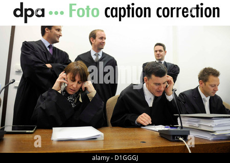 Dear customers, the people in this picture sent on 18 December 2012 have been wrongly identified. They are representatives - Stock Photo