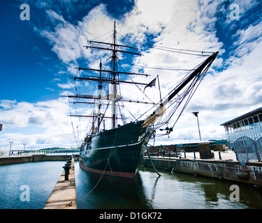 The RRS Discovery, Discovery Museum. Dundee, Scotland, United Kingdom, Europe - Stock Photo