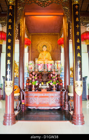 Temple at Sam Mountain, Mekong Delta, Vietnam, Indochina, Southeast Asia, Asia - Stock Photo