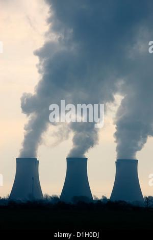 Eggborough Power Station Knottingley North Yorkshire England - Stock Photo