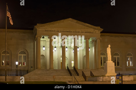 Washington, DC - The District of Columbia Court of Appeals, in the building that formerly was DC City Hall. - Stock Photo