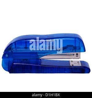 A stapler on a white background - Stock Photo