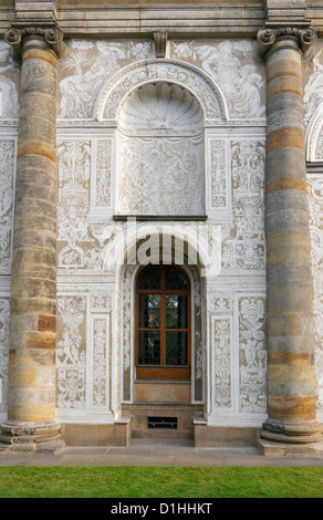 The Ball Game Hall (Micovna) in the Royal gardens, Prague, Czech Republic. - Stock Photo