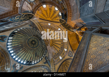 Hagia Sophia  is a former Orthodox patriarchal basilica, later a mosque, and now a museum in Istanbul,Turkey. - Stock Photo