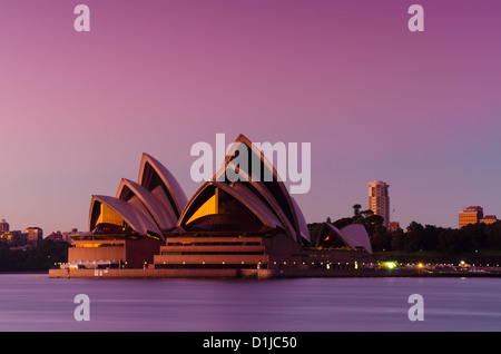 Sydney Opera House at early morning light - Stock Photo