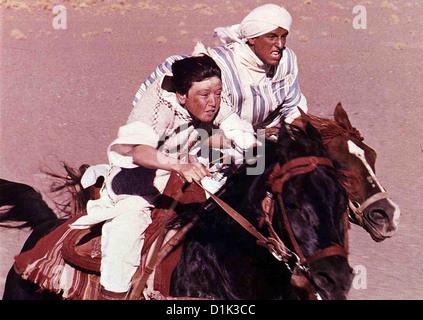 Der Schwarze Hengst Kehrt Zurueck  Black Stallion Returns,  Kelly Reno, Vincent Spano Endlich hat Alec (Kelly Reno,l) - Stock Photo