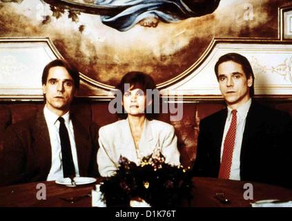 Die Unzertrennlichen  Dead Ringers  Jeremy Irons, Genevieve Bujold Die Zwillingsbrueder Beverly und Elliot Mantle - Stock Photo