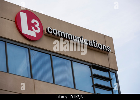 An office building occupied by defense contractor L3 Communications.  - Stock Photo