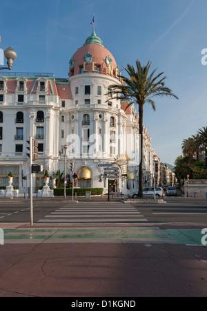 Le Negresco Hotel Promenade Des Anglais - Stock Photo