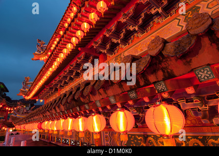 chinese new year temple decorations - Stock Photo