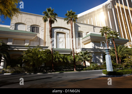 the four seasons hotel at mandalay bay resort hotel and casino Las Vegas Nevada USA - Stock Photo