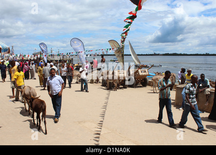 Lamu Island, Kenya, East Africa - Stock Photo