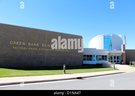 Green Bank Science Center, National Radio Astronomy Observatory, West Virginia, America, USA - Stock Photo