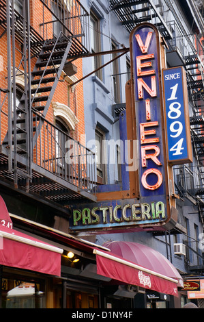 Venieros bakery and pasticceria in the east village neighborhood venieros pasticceria in the east village neighborhood in new york city ny stock photo junglespirit Images