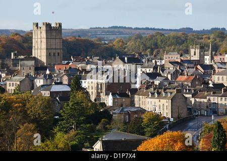 Richmond, North Yorkshire, England - Stock Photo