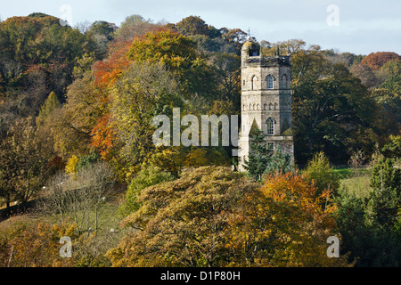 Culloden Tower, Richmond, North Yorkshire, England - Stock Photo