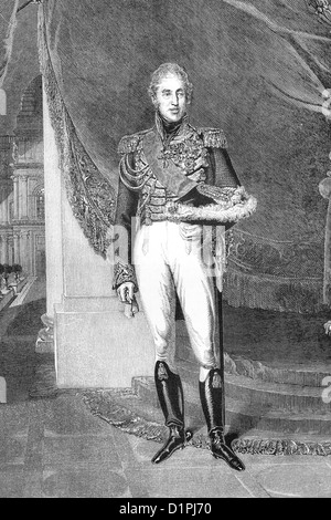 Charles X, king of France (9th October 1757- 6th November 1836) - Stock Photo