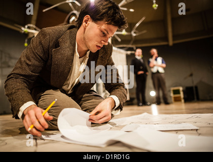 'To Kill a Machine' a new play about the life of wartime code-breaker and artificial intelligence pioneer Alan Turing. - Stock Photo