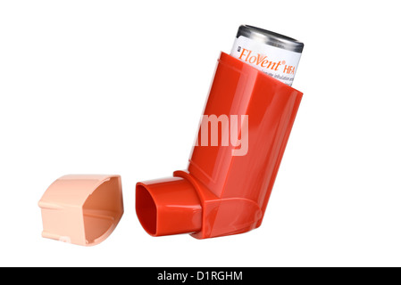Asthma Inhaler, Inhalers, Bronchodilators Bronchodilator For Allergy, Ventolin, Flovent Salbutamol - Stock Photo