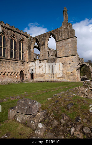 Bolton Abbey an Augustinian abbey in the Yorkshire Dales National Park. - Stock Photo