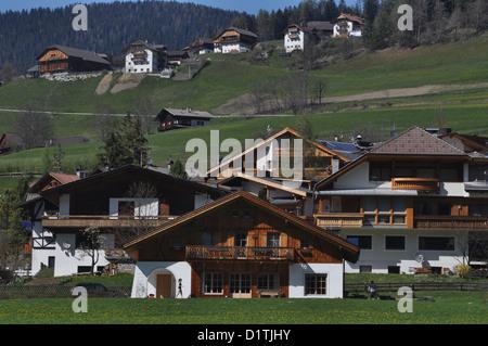 San Vigilio di Marebbe, Alto Adige, Italy - Stock Photo