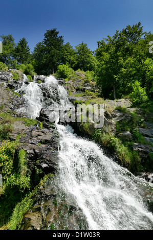 Todtnau, Germany, Todtnauer Waterfall in the Black Forest - Stock Photo