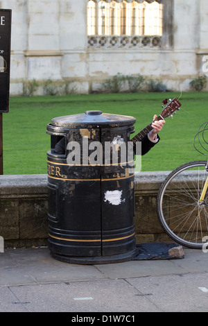 Busker - Stock Photo