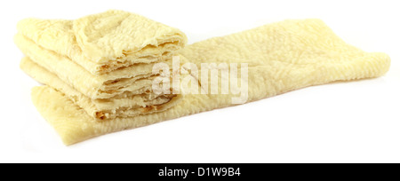 Hand made roti bread of Indian subcontinent - Stock Photo