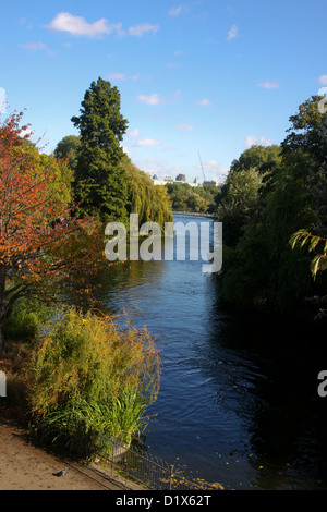 St James's Park Lake London - Stock Photo