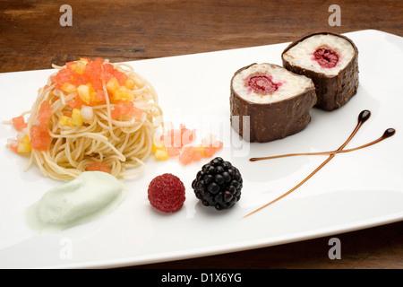 Rice Pudding Dessert Postre de Arroz con Leche - Stock Photo