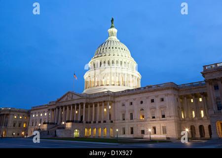 U.S. Capitol Building, Washington, DC USA - Stock Photo