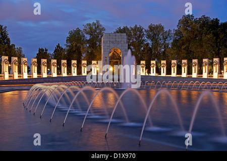 National World War II Memorial, Washington, DC USA - Stock Photo