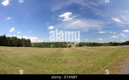 area where there was a village of Lidice - Stock Photo