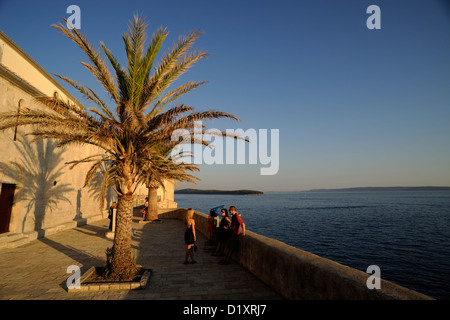croatia, kvarner, rab island, old town - Stock Photo