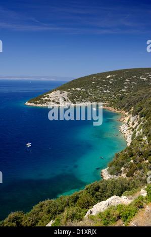 croatia, dalmatian islands, kvarner, rab island - Stock Photo