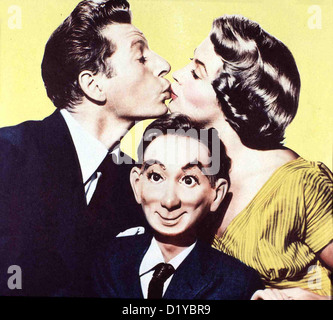 Die Lachbombe  Knock On Wood  Danny Kaye, Mai Zetterling Der psychisch angeschlagene Variete-Bauchredner Jerry (Danny - Stock Photo