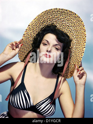 JANE RUSSELL  (1921-2011) US film actress about 1950 - Stock Photo