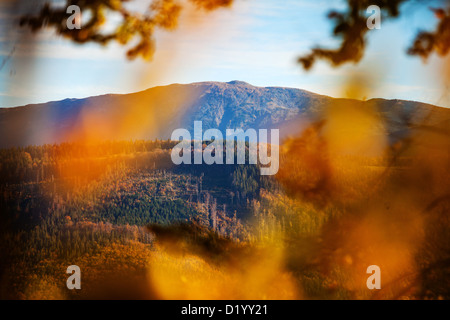Babia Gora, beskid Zywiecki, Beskidy mountains, Poland - Stock Photo