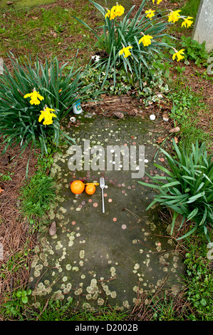 The grave of Ludvig Wittgenstein - Stock Photo