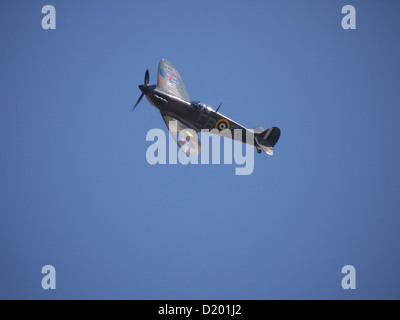 Spitfire part of the Battle of Britain Memorial Flight - Stock Photo