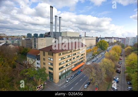Berlin, Germany, the CHP CHP center - Stock Photo