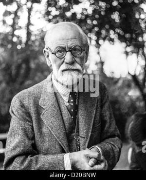 Sigmund Freud in 1935 - Stock Photo