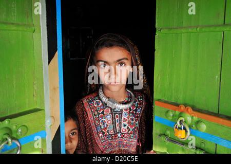 Fakirani Jat tribe in Kutch, India - Stock Photo